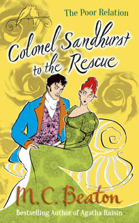Cover of Colonel Sandhurst to the Rescue by Marion Chesney
