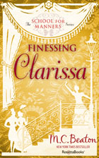 Cover of Finessing Clarissa
