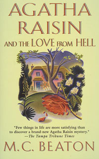 Cover of The Love from Hell by M.C. Beaton