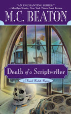 Cover of Death of a Scriptwriter