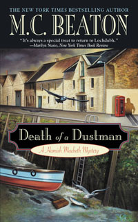 Cover of Death of a Dustman by M.C. Beaton