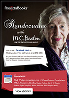 RosettaBooks Rendezvous with M.C. Beaton flyer