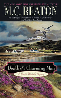Cover of Death of a Charming Man by M.C. Beaton