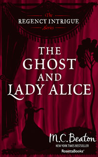 Cover of The Ghost and Lady Alice by Marion Chesney
