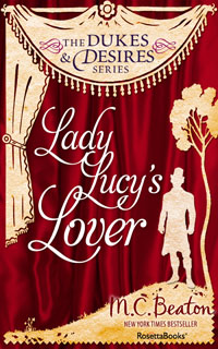 Cover of Lady Lucy's Lover by Marion Chesney