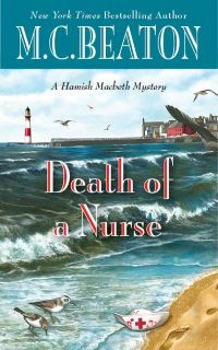 Cover of Death of a Nurse by M.C. Beaton