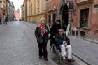 Walking in Warsaw's Old Town, the Stare Miasto