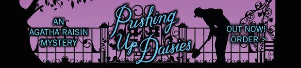 An Agatha Raisin Novel - Pushing Up Daisies - Out Sept 20th 2016 Preorder