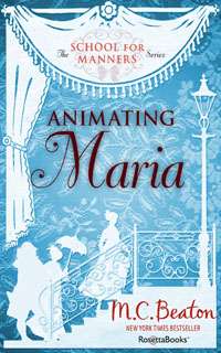 Cover of Animating Maria by Marion Chesney