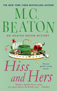 Cover of Hiss and Hers by M.C. Beaton