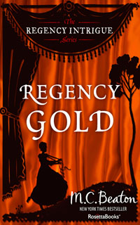 Cover of Regency Gold by Marion Chesney