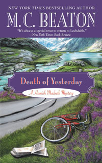 Cover of Death of Yesterday by M.C. Beaton