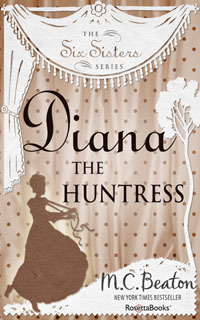 Cover of Diana the Huntress by Marion Chesney