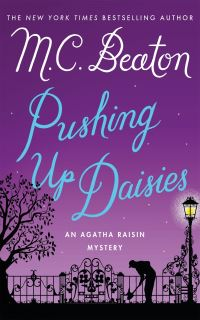 Cover of Pushing Up Daisies by M.C. Beaton