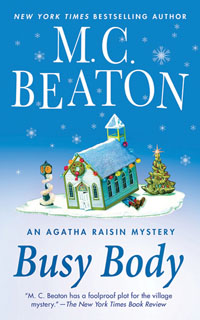 Cover of Busy Body by M.C. Beaton