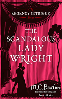 Cover of The Scandalous Lady Wright by Marion Chesney
