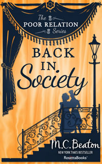Cover of Back in Society by Marion Chesney