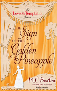 Cover of At the Sign of the Golden Pineapple by Marion Chesney