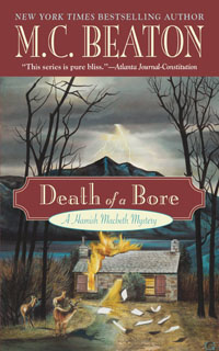 Cover of Death of a Bore by M.C. Beaton