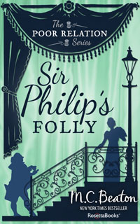 Cover of Sir Philip's Folly by Marion Chesney