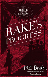 Cover of Rake's Progress by Marion Chesney