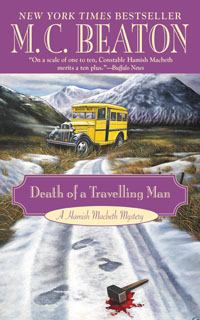 Cover of Death of a Travelling Man by M.C. Beaton