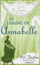 Cover of The Taming of Annabelle