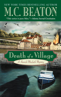 Cover of Death of a Village by M.C. Beaton