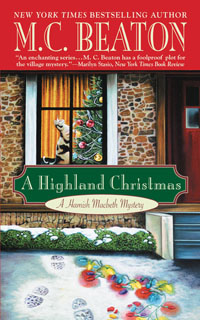 Cover of A Highland Christmas by M.C. Beaton