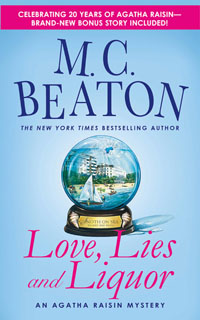 Cover of Love, Lies and Liquor by M.C. Beaton