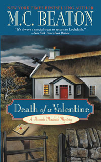 Cover of Death of a Valentine by M.C. Beaton