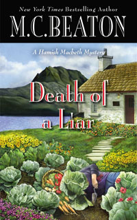 Cover of Death of a Liar by M.C. Beaton