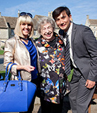 With Ashley Jensen and Matt McCooey as Agatha Raisin and DC Bill Wong