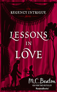 Cover of Lessons in Love by Marion Chesney