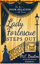 Cover of Lady Fortescue Steps Out