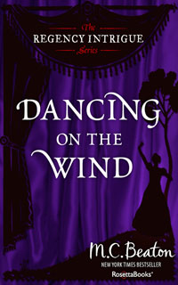 Cover of Dancing on the Wind by Marion Chesney