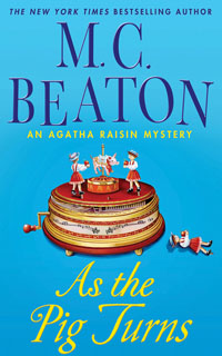 Cover of As The Pig Turns by M.C. Beaton
