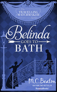 Cover of Belinda Goes to Bath by Marion Chesney