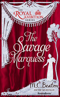 Cover of The Savage Marquess by Marion Chesney