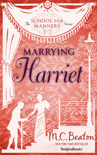 Cover of Marrying Harriet by Marion Chesney