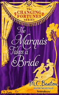 Cover of The Marquis Takes a Bride by Marion Chesney