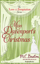 Cover of Miss Davenport's Christmas