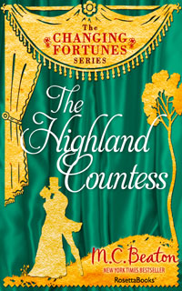 Cover of The Highland Countess by Marion Chesney