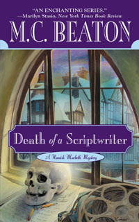 Cover of Death of a Scriptwriter by M.C. Beaton