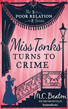 Cover of Miss Tonks Turns to Crime