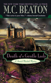 Cover of Death of a Gentle Lady by M.C. Beaton