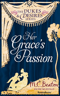 Cover of Her Grace's Passion by Marion Chesney
