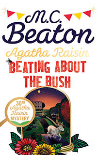Cover of Beating About the Bush by M.C. Beaton