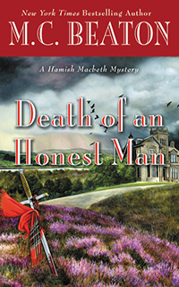 Cover of Death of an Honest man by M.C. Beaton