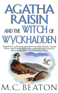 Cover of The Witch of Wyckhadden by M.C. Beaton